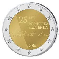 ESLOVENIA  2016 2€ 25 ANIVERSARIO DE LA INDEPENDENCIA