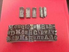 5 kg caractère en plomb typographique , linotype / monotype d' imprimerie