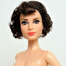 Nude Barbie Celebrity Audrey Hepburn Roman Holiday modèle muse doll