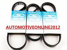 DAYCO DRIVE FAN BELT KIT FOR HYUNDAI ACCENT LC MC 1.6L 4CYL G4ED 09/03-01/2010