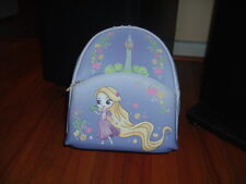 LOUNGEFLY DISNEY RAPUNZEL CHIBI MINI BACKPACK~ WITH TAGS~NEW~ PURPLE~