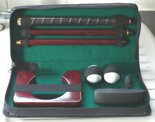 Indoor Putter and travel case.Includes hole,and balls