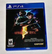 Replacement Case (NO GAME) Resident Evil 5 Playstation 4 PS4 Box