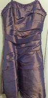 DESIGNER DRESS HENRY ROTH NEW YORK DESIGNER FORMAL/SEMI FORMAL SIZE 16 WORN ONCE