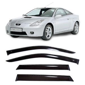 For Toyota Celica (T230) 1999-2006 Window Visors Sun Rain Guard Vent Deflectors