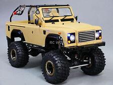 Axial SCX10 1/10 Custom RC 4X4 MARAUDER DESERT 4WD Rock Crawler 8.4V  *RTR*