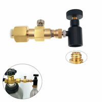 CO2 Carbonator Cylinder Tank On//Off Refill Adapter Tool Suitable For Sodastream