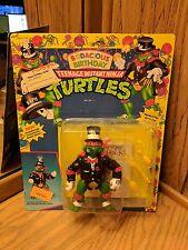 1992 TMNT Bodacious Birthday Raph Vintage Teenage Mutant Ninja Turtles Unpunched