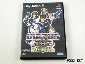 Virtua Cop Rebirth Playstation 2 Japanese Import PS2 JP Japan US Seller