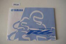 Yamaha YZF R6 RJ15 Bedienungsanleitung Anleitung Buch English Owner´s Manuel 13S
