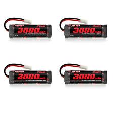 Venom 7.2V 3000mAh 6 Cell NiMH Battery for Roto Start and Starter Boxes x4 Packs