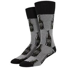 Socksmith Outlands Men's Recycled Wool Crew Socks Craft Beer Made in the USA