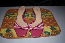 Ann Taylor LOFT Mules Sandals Heels Women's Shoes Size 8.5 M