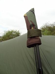 Peak angling products fishing Tip top carp rod protector covers  x 2 CAMO