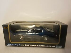 1970 Chevrolet Chevelle SS 454 Welly  1:18 Scale Die Cast Metal