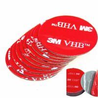 10pcs/lot Double Sided Adhesive Tape Various Size Grey Round 3M VHB Acrylic Foam