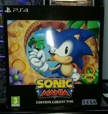SONIC MANIA COLLECTOR PS4  PAL FR  Collector NEUF / SEALED PS4