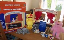 ELC WOODEN PUPPET THEATRE, ELC NATIVITY FINGER PUPPETS & STORY CARD & MORE