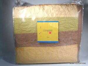 Company C sunkissed TWIN tan quilt 18450-WARM-TWIN 90% Cotton 10% Linen
