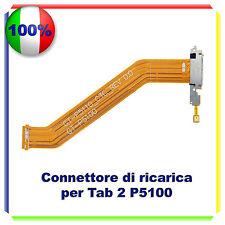 CONNETTORE RICARICA CARICA micro usb FLEX SAMSUNG TAB 2 P5100