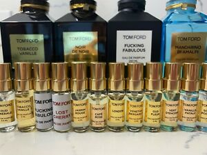 TOM FORD Eau de Parfume TOBCCO VANILLE  Unisex Scents size 3.4ml  Free Ship