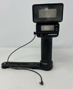 Hanimex PZ4200 Flash Gun And Camera Bracket Mount Vintage Photography