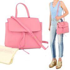 New Mansur Gavriel Mini Lady Bag Peony Pink Satchel Drawstring Designer Purse
