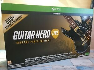 Xbox One Guitar Hero Live Supreme Party Edition , Boxed / Excellent Condition