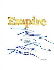 "Ta'Rhonda Jones Signed Autograph EMPIRE ""Our Dancing Days"" Episode Script COA VD"
