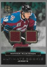 13/14 Ultimate Collection Rookie Jersey Nathan MacKinnon URJ-NM Avalanche