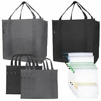 Cotton Canvas Reusable Shopping Grocery Bag Tote (15 Pack) *US Seller*