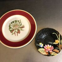 VTG Water Lily Plate Syracuse China Royal Aynsley Saucer Set 2 Replacement Piece