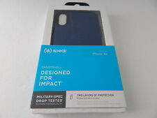 Speck CandyShell Case for iPhone XR Deep Sea Blue/Slate Grey New