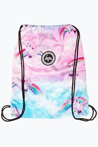 Hype Unicorn Skies Drawstring Bag Multi-Coloured | Back To School | Gym & Swim