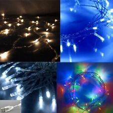 50 LED Fairy Lights USB Powered (Warm White/Cool White/Blue/Multi) Christmas