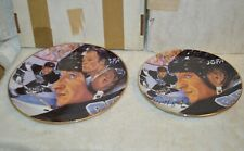 "Wayne Gretzky and Gordie Howe 10"" and Wayne Gretzky 8"" Limited Edition Plates"