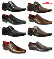 Mens Red Tape Leather Smart Formal Wedding Italian Office Dress Work Shoes Size