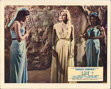 She original Hammer lobby card Ursula Andress with women bowing in cave