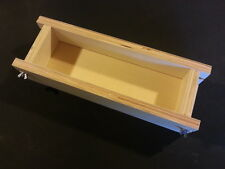 Adjustable SOAP MOLD, 2 Lb Cold Process Loaf Mold Wooden Wood