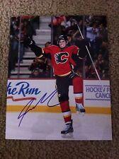 Sean Monahan Autographed 8x10 Photo Calgary Flames Ottawa 67's Canada