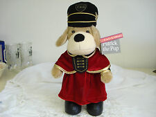 FAO SCHWARZ Family Foundation SOLDIER PATRICK THE PUP Plush Stuffed Dog w/ Tags