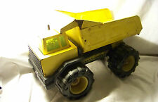"""Mighty Tonka"" Diesel Dump Truck Metal Pressed Steel Vintage 1990's"