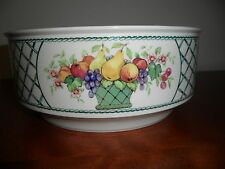 "Villeroy & Boch Porcelain BASKET 8 1/4"" Round Vegetable Bowl"