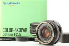 *Mint in BOX* COLOR SKOPAR 50mm F/2.5 L39 Black Filter Hood LTM Leica SCREW JP