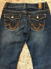 "Maurice's Women's Jeans Size 3/4 Short-Inseam 29.5"""