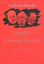 La Revue blanche : Enquête sur la Commune de Paris