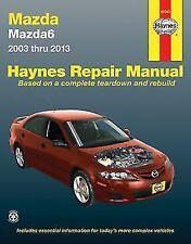 2003-2013 Mazda Mazda6 Haynes Repair Service Workshop Manual Book Guide 1707