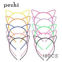 10PCS ear-cat Headband children girl HairHoop Party Accessories  Headwear