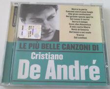 LE PIU' BELLE CANZONI DI CRISTIANO DE ANDRE' CD ALBUM RACCOLTA SUCCESSI OTTIMO!!