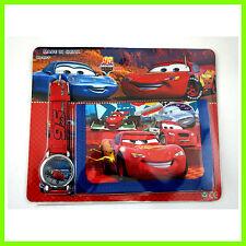 LATEST Pixar Cars McQueen Children's Kids Boys Girls Watch Wallet Set Christmas